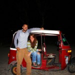 Grateful for the evening tuk tuk ride up the enormous hill to camp
