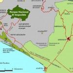 Use the San Benito access road