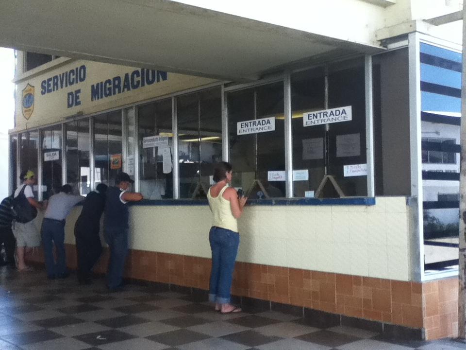 costa rica panama border crossing  panam notes