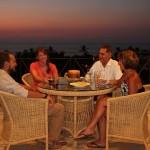 Evening sundowners Pribbeno style