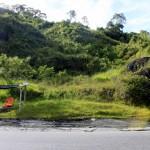 Latin American bus stop